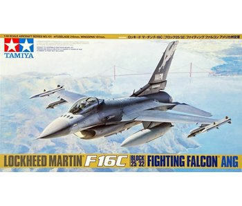 Tamiya 1/48 Lockheed Martin F-16C Block 25/32 Fighting Falcon Ang