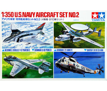 Tamiya U.S. Navy Aircraft No.2 (1/350)