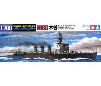 Tamiya Kiso Light Cruiser (1/700)