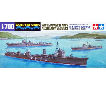 Tamiya Japanese Navy Auxiliary Vessels (1/700)
