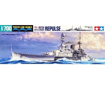 Tamiya British Battle Cruiser Repuls (1/700)