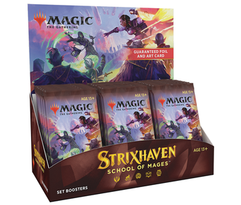 MTG - Strixhaven School of Mages- Set Booster Box