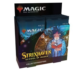 MTG - Strixhaven School of Mages - Collector Booster Box