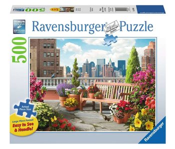 Ravensburger Garden On The Roof 500Pcs