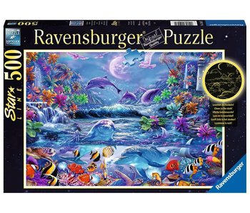 Ravensburger The Magic Of Light Moon 500Pcs