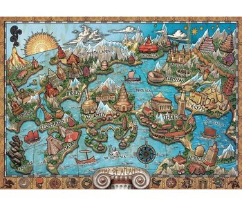 Ravensburger Mysterious Atlantis 1000Pcs