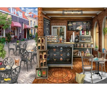 Ravensburger Cozy Coffee Street 1000Pcs