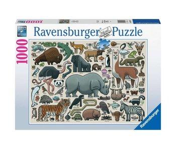 Ravensburger Wildlife 1000Pcs