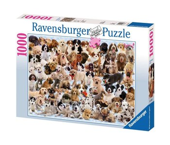 Ravensburger Portraits Of Dogs 1000Pcs