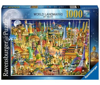 Ravensburger Monuments Of The World Night 1000Pcs