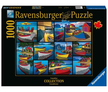 Ravensburger On The Water 1000Pcs