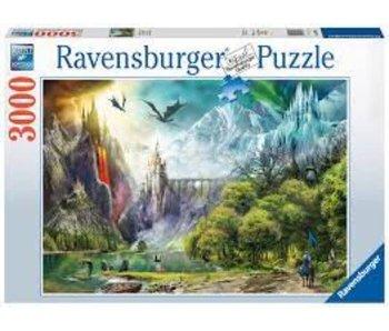 Ravensburger Reign Of Dragons 3000Pcs