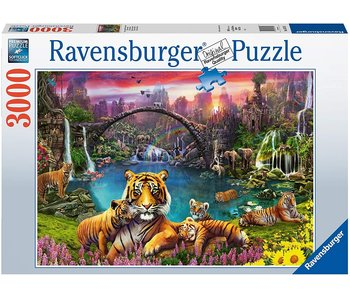 Ravensburger Tigres Au Day 3000Pcs