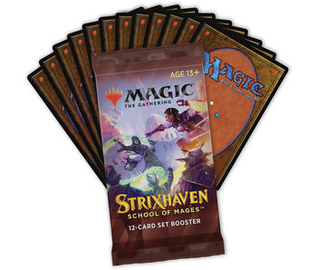 MTG - Strixhaven School of Mages- Set Booster Pack