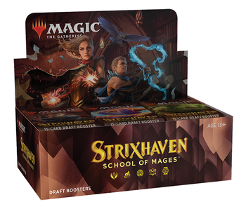 MTG - Strixhaven School of Mages - Draft Booster Box