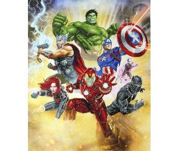 Avengers Assemble Diamond Painting Kit