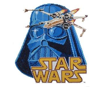 Vader & X Wing Diamond Painting Kit