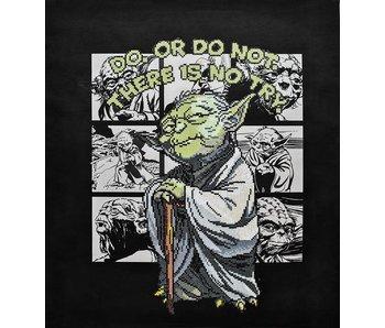 Yoda Diamond Painting Kit