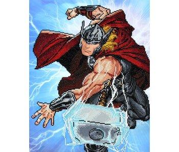 Thor Strikes Diamond Painting Kit