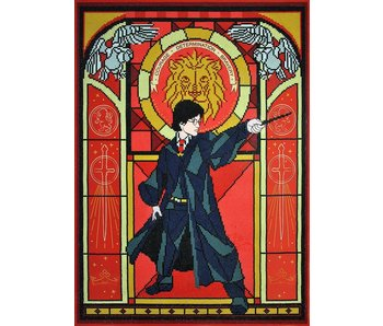 Harry Stained Glass Diamond Painting Kit