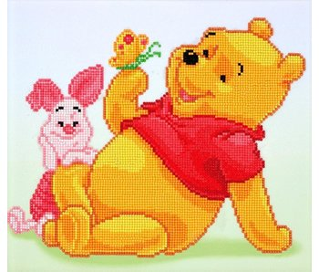 Pooh with Piglet Diamond Painting Kit