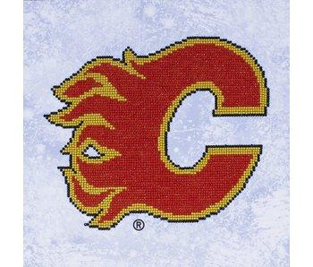NHL Calgary Flames Diamond Painting Kit