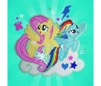 Fluttershy & Rainbow Dash Diamond Painting Kit