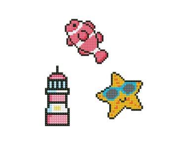 Dotzies BUBBLES - Fish - Star Fish - Light House