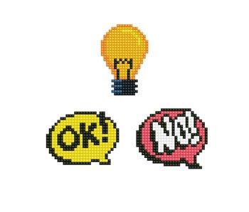Dotzies HMMM - OK! - Light Globe - NO!