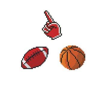 Dotzies FAN - Soccer Ball - Basket Ball - Fan Hand