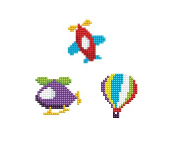 Dotzies FLY - Hot Air Balloon - Plane - Helicopter
