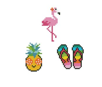 Dotzies HOLIDAY - Flamingo - Pineapple - Thongs