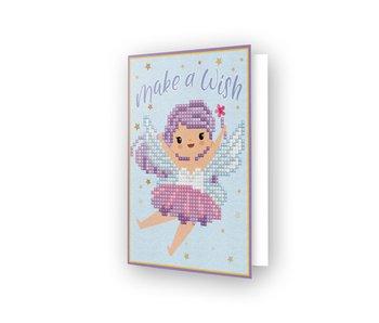 Diamond Dotz Make a Wish Greeting Card