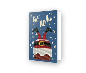 Diamond Dotz Ho Ho Ho Greeting Card