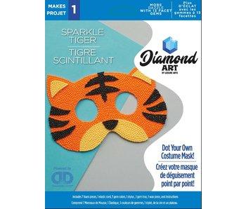 Diamond Dotz Sparkle Tiger Mask