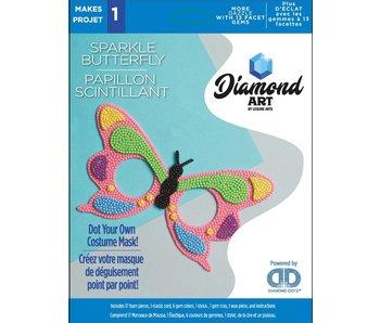 Diamond Dotz Sparkle Butterfly mask