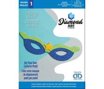Diamond Dotz Blue Super Hero mask