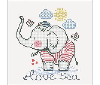Diamond Dotz Love Sea