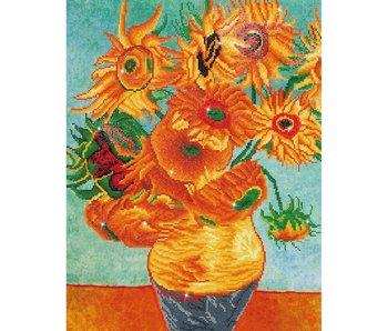Diamond Dotz Sunflowers (Van Gogh)