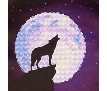 Diamond Dotz Wolf Moon