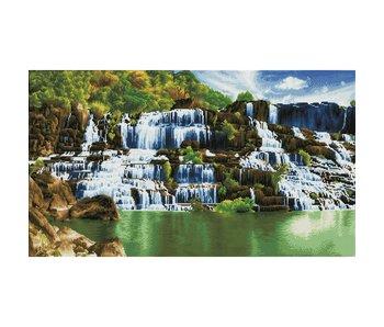 Diamond Dotz Pongour Waterfall