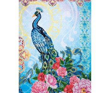 Diamond Dotz Exotic Peacock