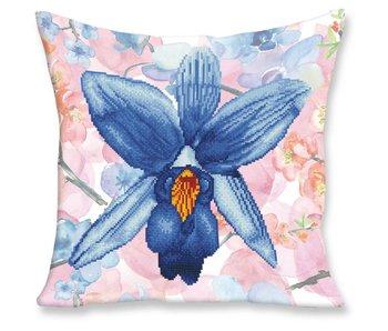 Diamond Dotz Pillow Kit Sparkle Garden Blue