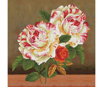 Diamond Dotz Pillow Kit Camellia & Rose Bouquet