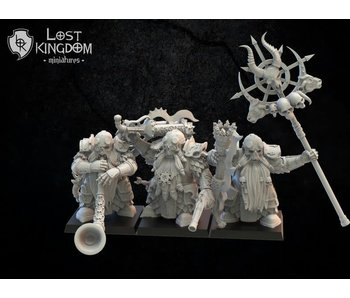 Lost Kingdom Death Guard with Arquebuses Command Group