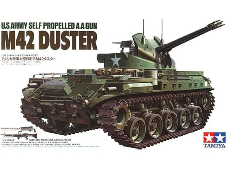 Tamiya Tamiya R M42 Duster W 3 Figures (1/35)