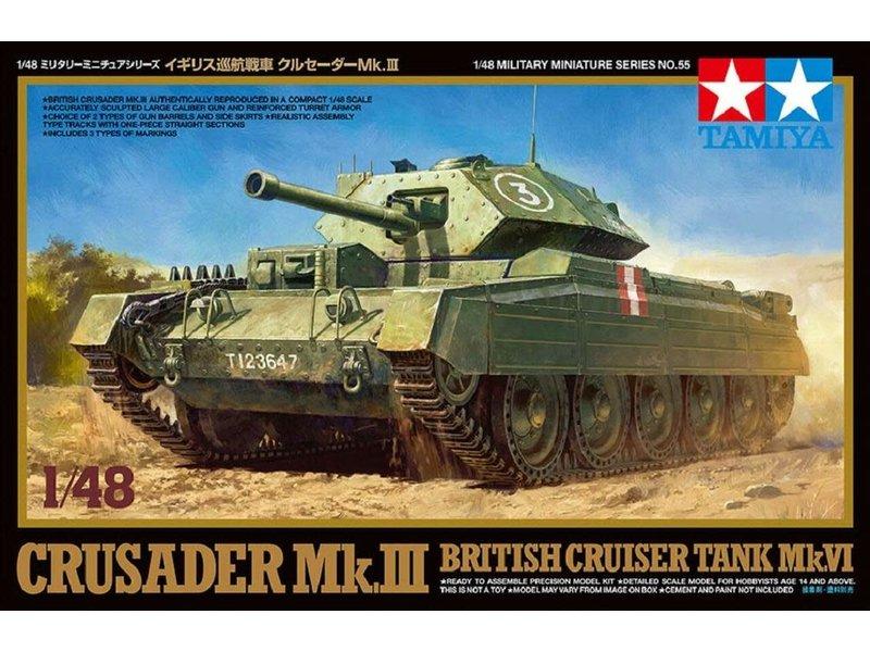 Tamiya Tamiya 1/48 Crusader Mk Iii
