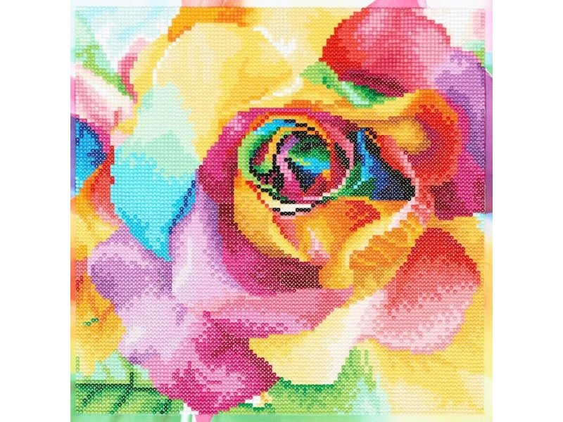 Diamond Dotz Rainbow Roses