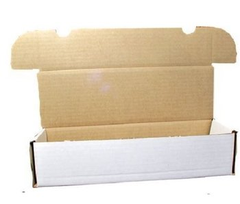 660ct Cardboard Box for Card Storage (1-BX-660) (BCW)