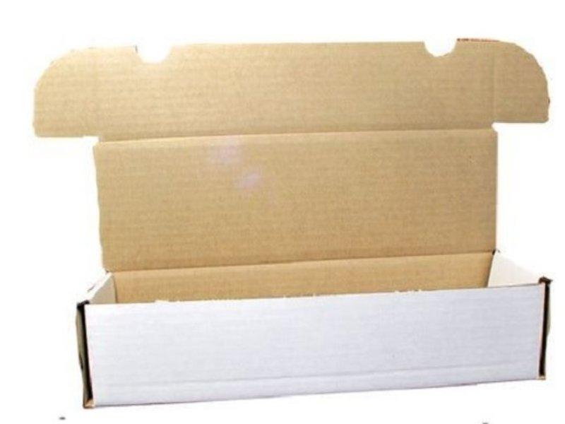 660ct Cardboard Box for Card Storage (1-BX-660) (BCW)